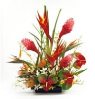 tropical flower arrangement 2